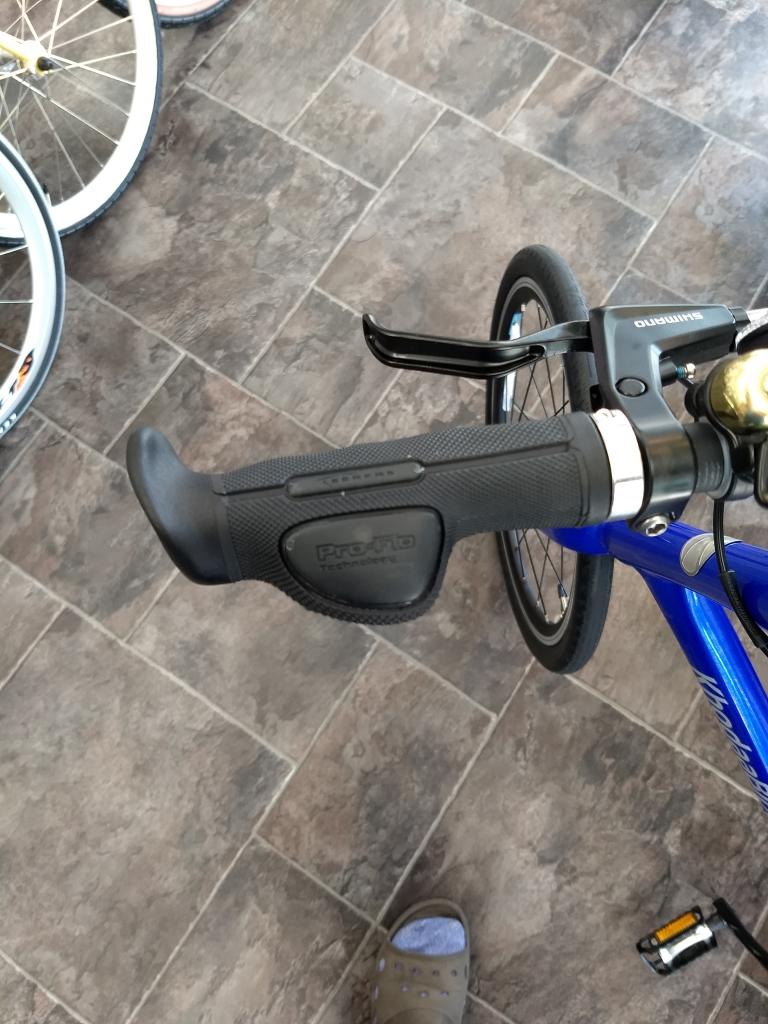 ちいさな自転車家 グリップ PFGグリップ  パーツ ミニベロ 自転車
