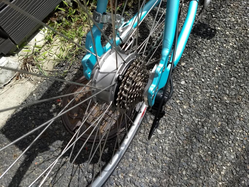 ちいさな自転車家 デイトナ DE02 ミニベロ 小径車