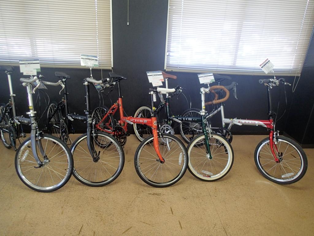 ちいさな自転車家 KHS ミニベロ 小径車