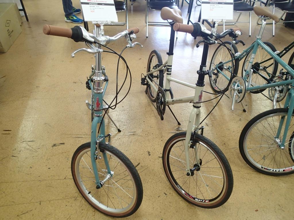 ちいさな自転車家 KHS Manhattan ミニベロ 小径車