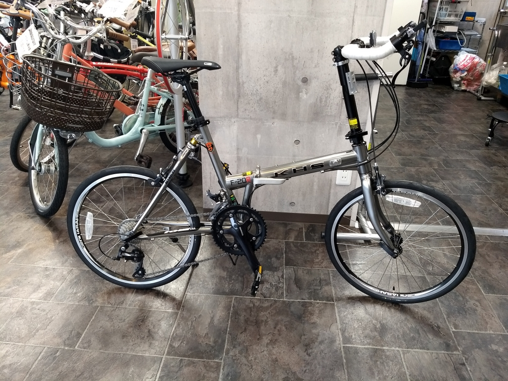 ちいさな自転車家 KHS F-20R ミニベロ 小径車