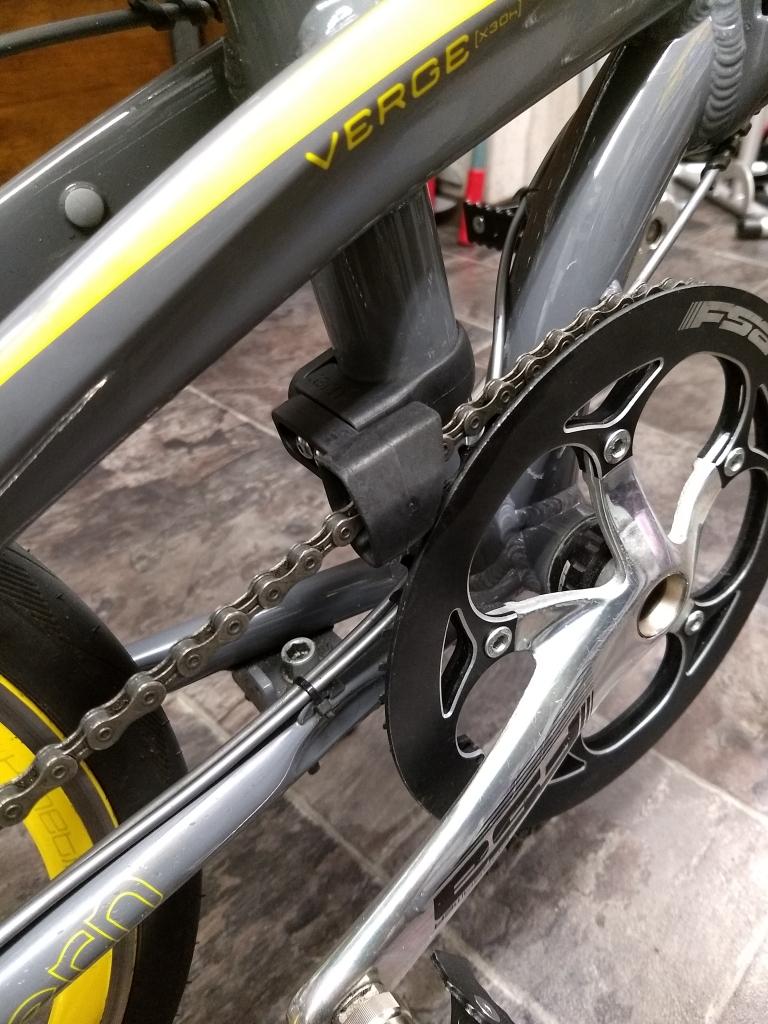 ちいさな自転車家 Tern チェーン落ち ミニベロ 小径車