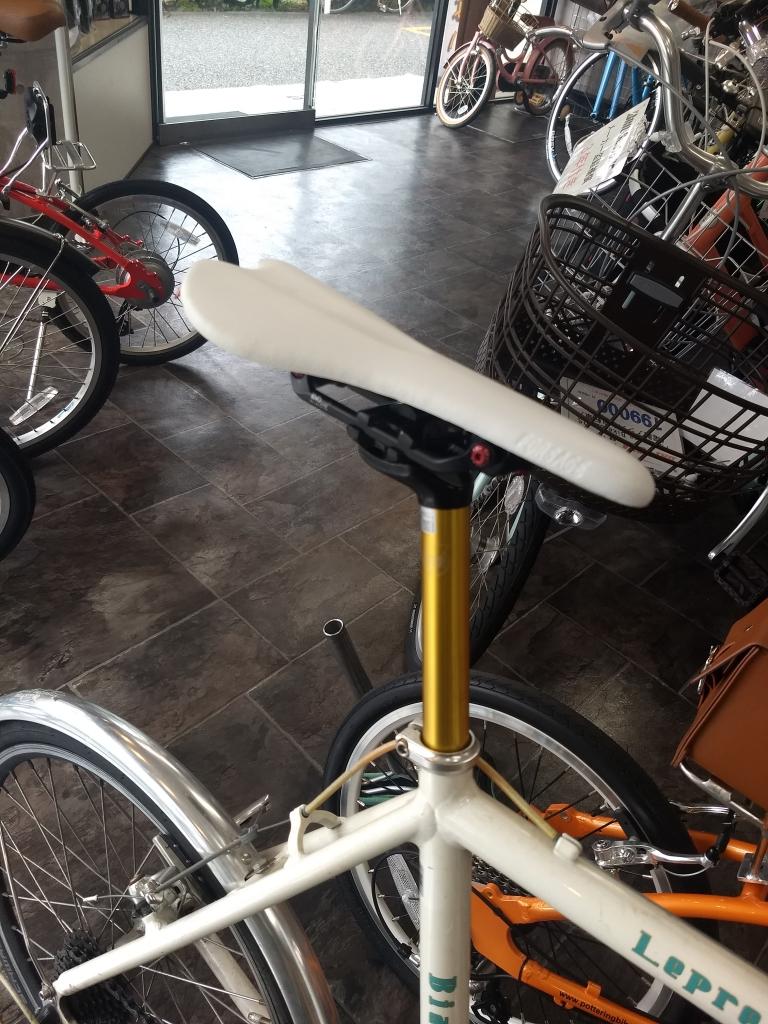 ちいさな自転車家 MORGAW サドル パーツ ミニベロ 小径車
