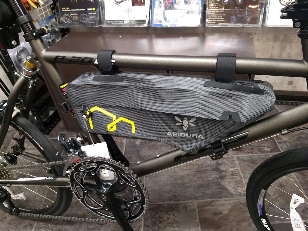 ちいさな自転車家 バイクパッキング アピデュラ APIDURA ミニベロ 小径車