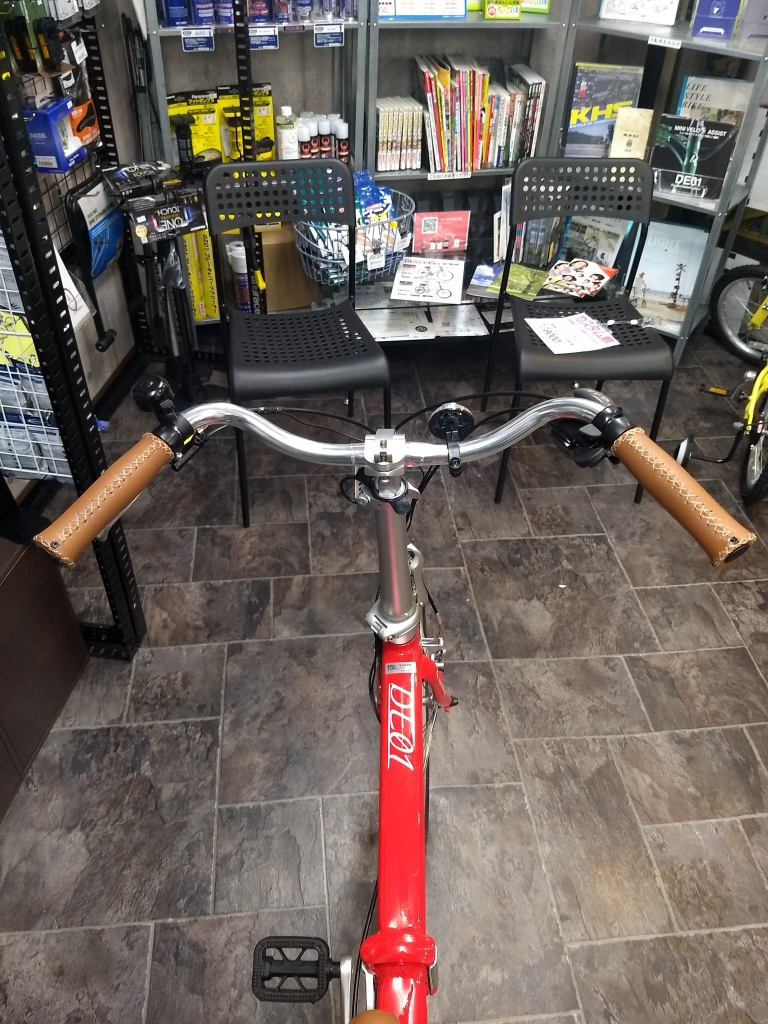 ちいさな自転車家 自転車  デイトナ DE01 カスタム ミニベロ 小径車