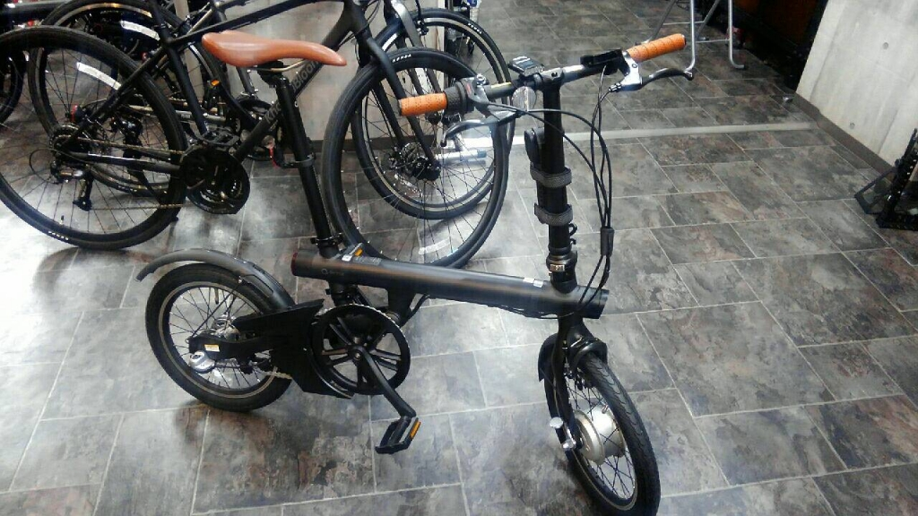 ちいさな自転車家 Qicycle 電動アシスト付自転車 ミニベロ 小径車