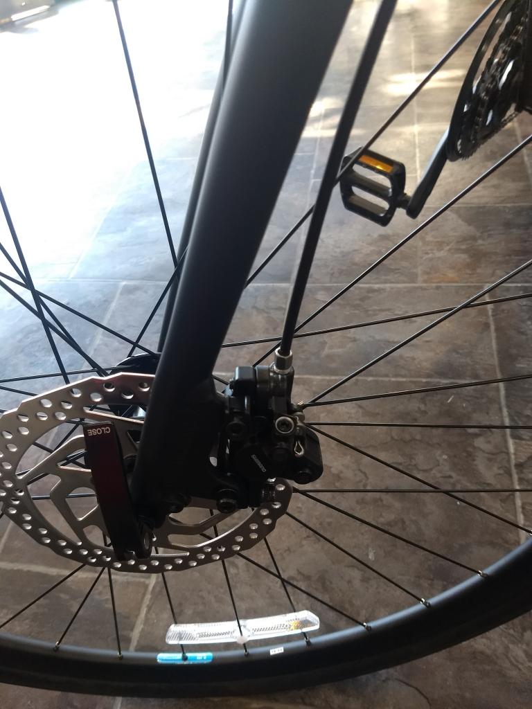 ちいさな自転車家 KhoddaBloom RAIL700D 油圧 ディスクブレーキ