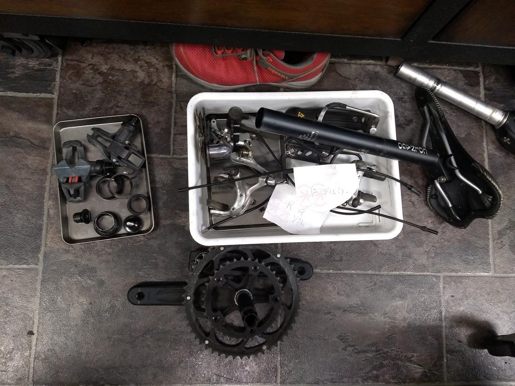 ちいさな自転車家 ロードバイク レストア コルナゴ