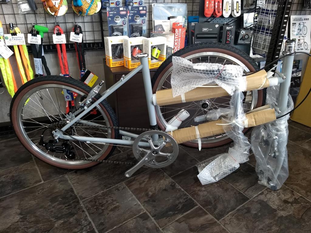 ちいさな自転車家 CRAZYSHEEP ロムニー ミニベロ 小径車