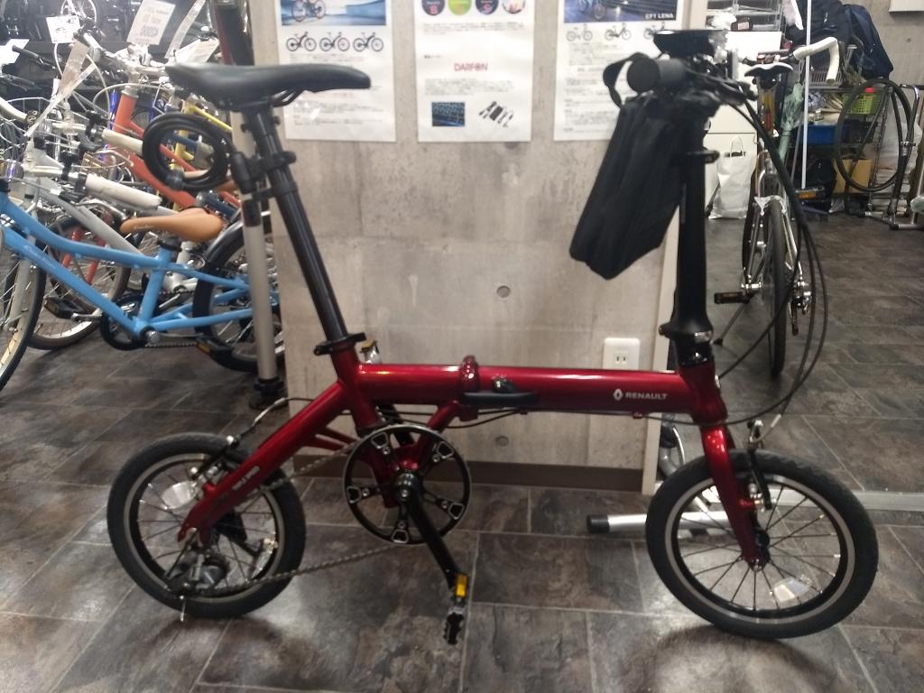 ちいさな自転車家 ULTRA LIGHT7 TRIPLE ミニベロ 小径車