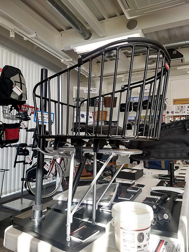 ちいさな自転車家 リアキャリア カスタム ミニベロ 小径車