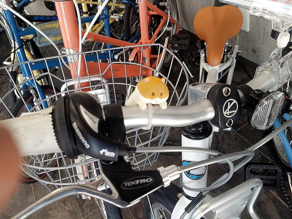 ちいさな自転車家 パーツ ライト ミニベロ 小径車