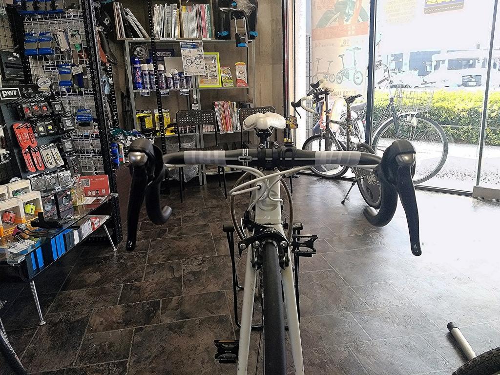 ちいさな自転車家 修理 バーテープ交換 ミニベロ 小径車