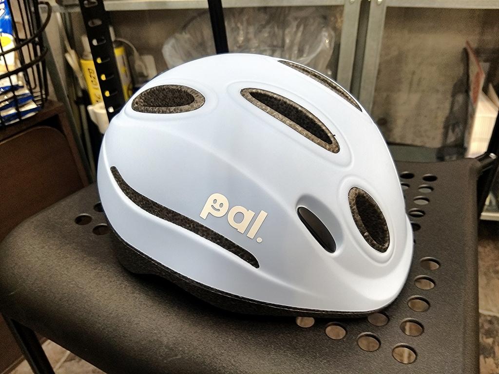ちいさな自転車家 OGK PAL 子供車 ヘルメット