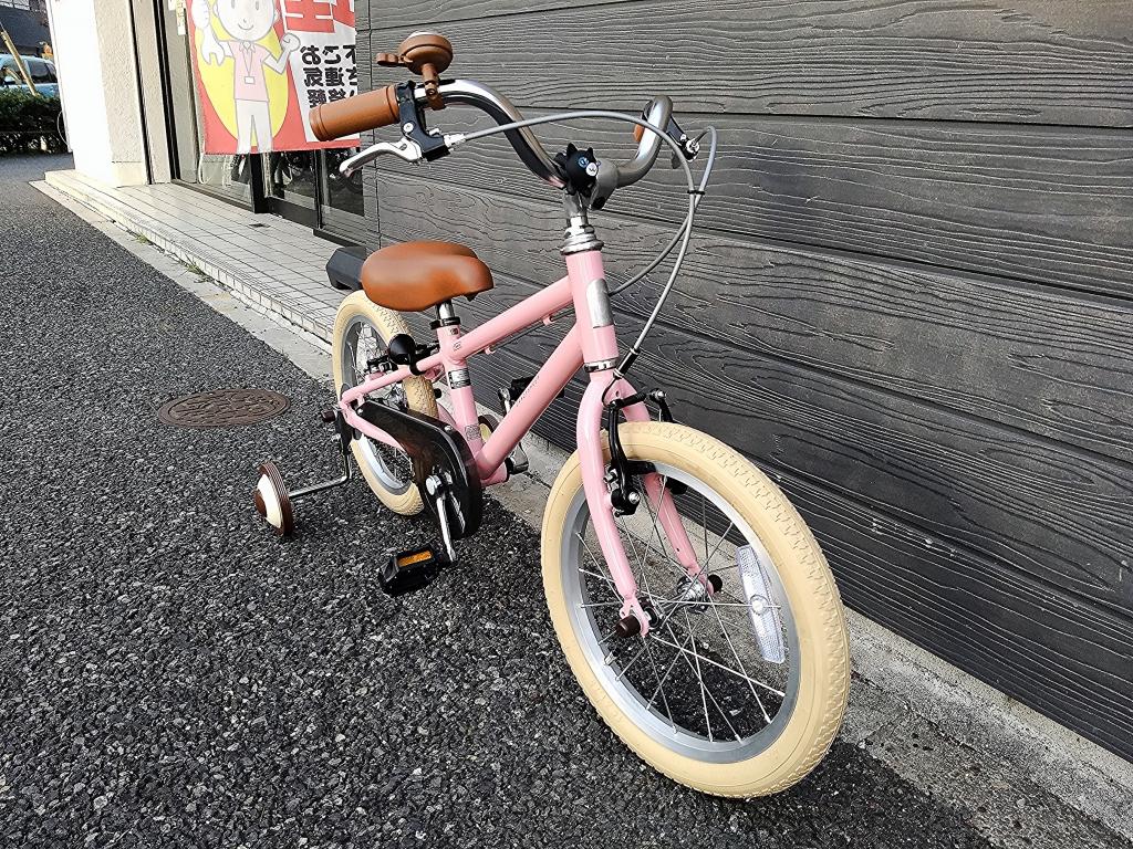 ちいさな自転車家 CRAZYSHEEP メリノ 子供車