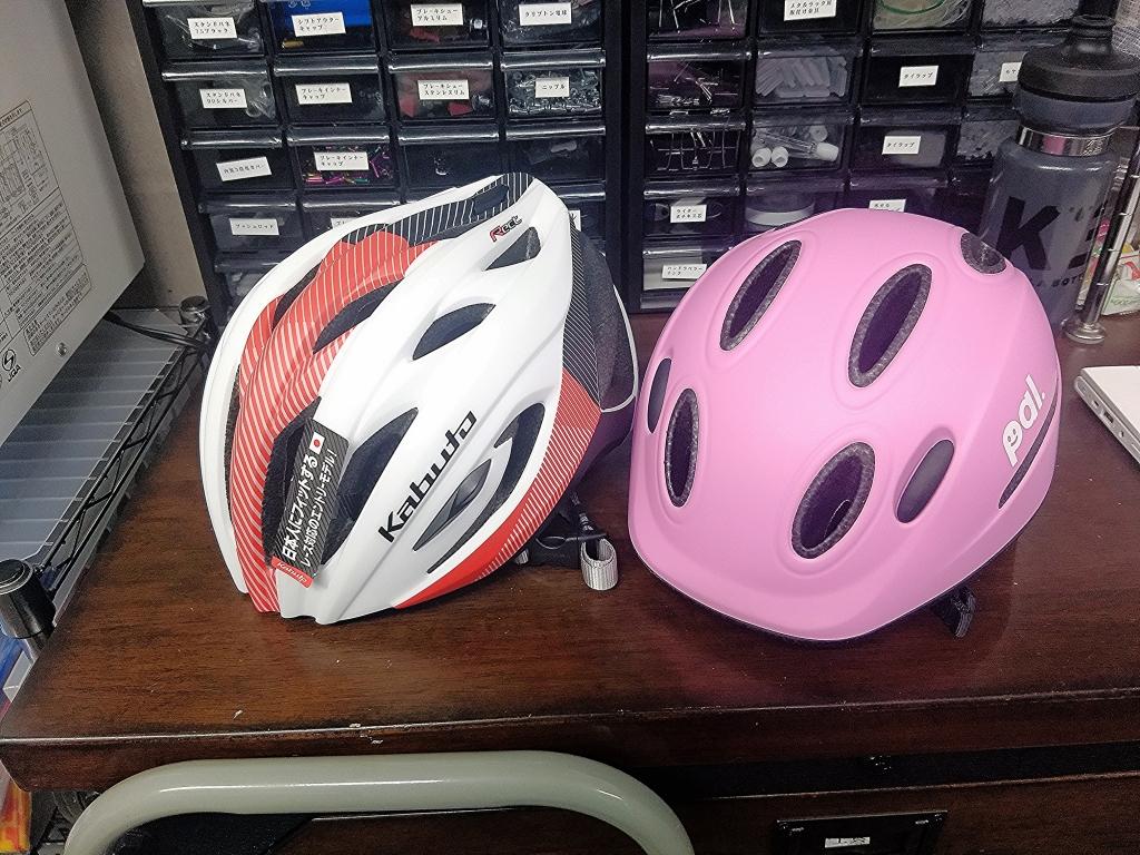 ちいさな自転車家 ヘルメット 大人用 子供用 OGK