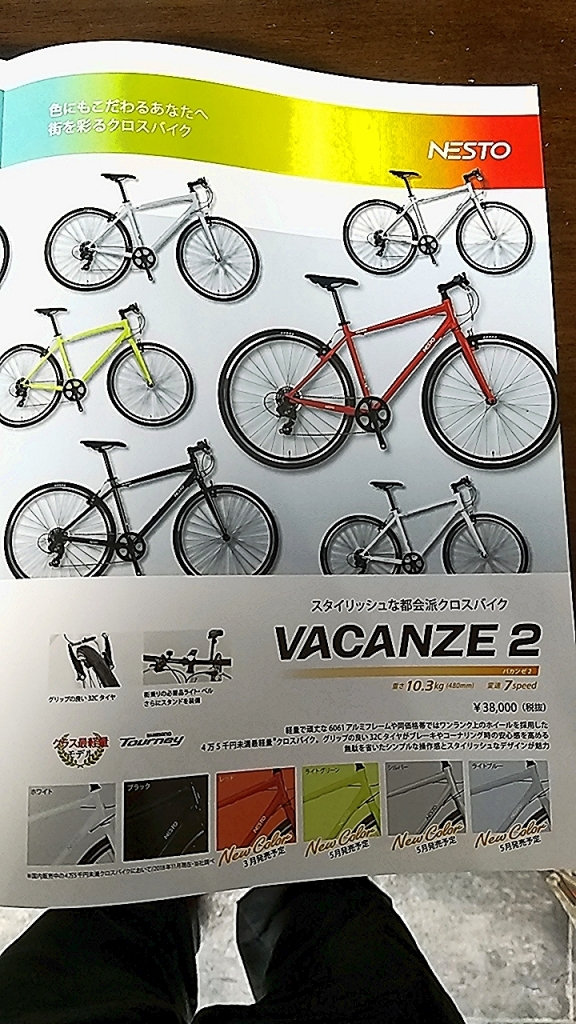 ちいさな自転車家 NESTO ヴァカンゼ2 クロスバイク