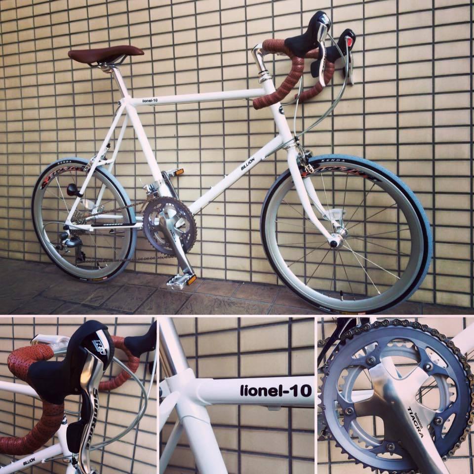 ちいさな自転車家 BILLION LIONEL-10 ミニベロ 小径車
