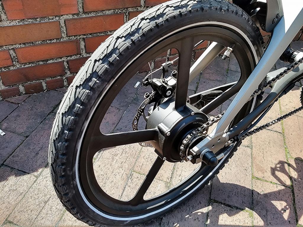 ちいさな自転車家 KKS S-1K 電動アシスト付自転車 ミニベロ 小径車