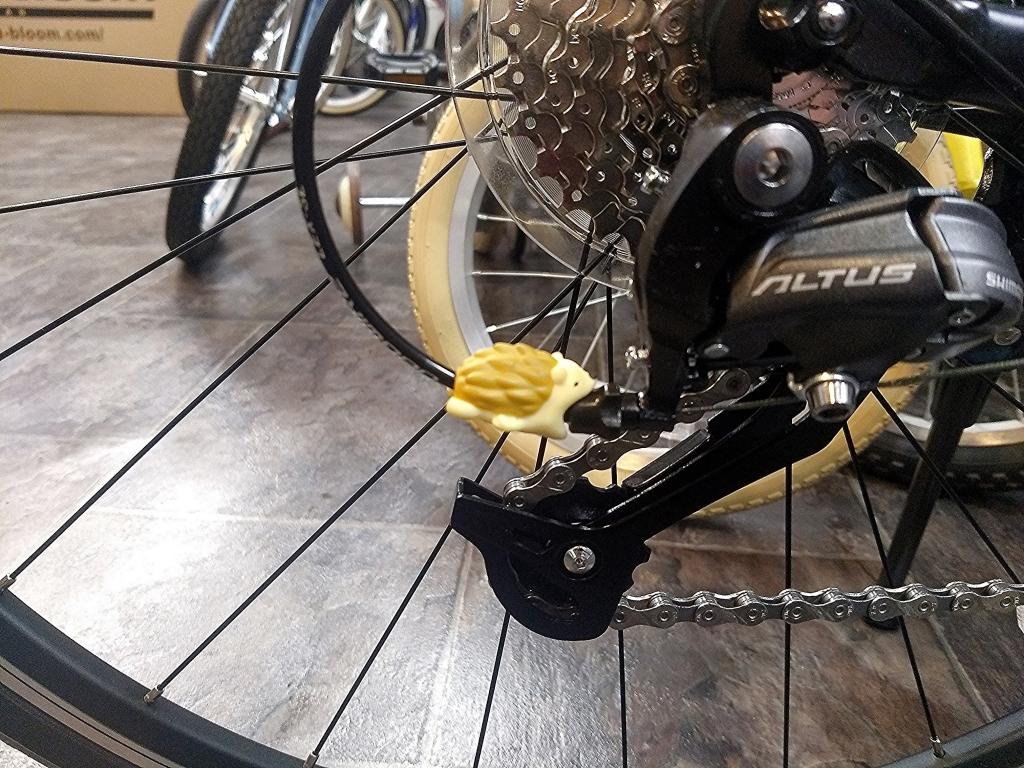 ちいさな自転車家 ケーブルバイト 動物 ミニベロ 小径車
