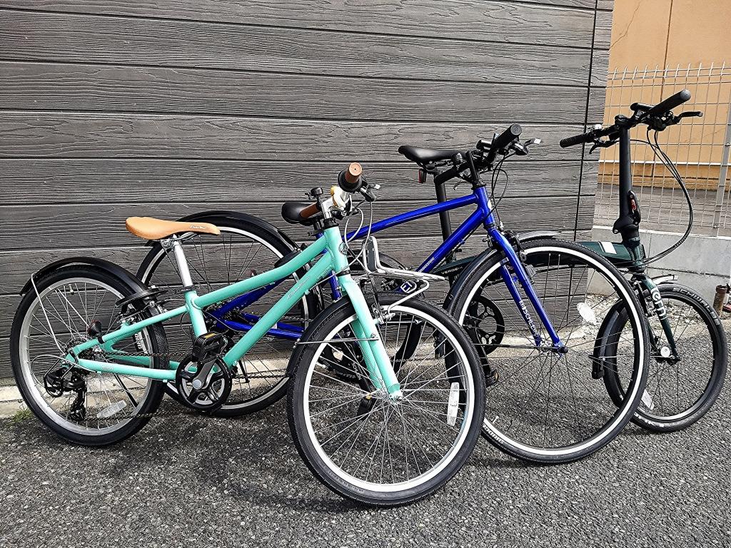 ちいさな自転車家 Tern KhodaaBloom ブリヂストン ミニベロ 小径車