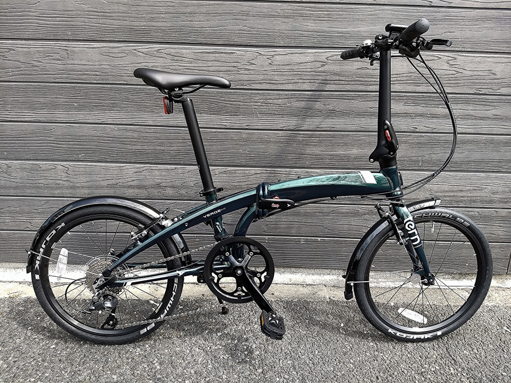 ちいさな自転車家 Tern Verge N8 折りたたみ自転車 ミニベロ 小径車