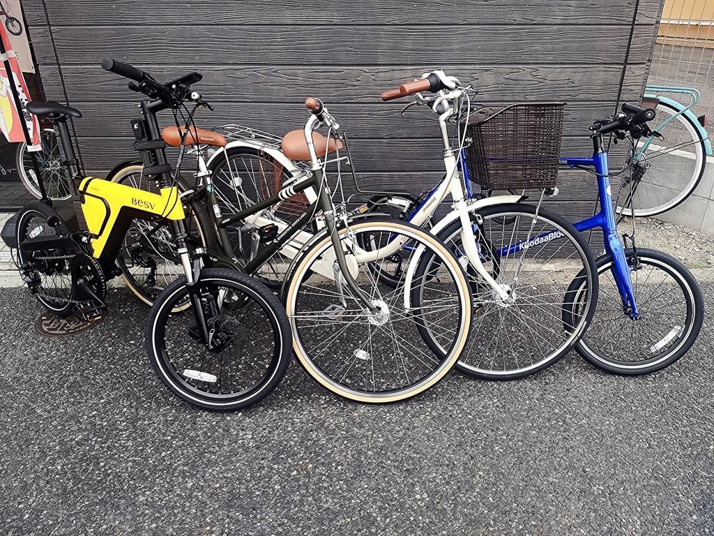 ちいさな自転車家 ご成約 通勤車 通学車 BESV ブリヂストン KhodaaBloom
