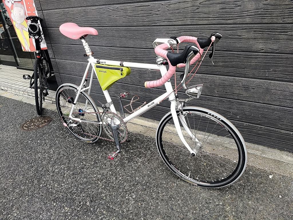 ちいさな自転車家 BILIION LIONEL10 アフターカスタム ミニベロ 小径車