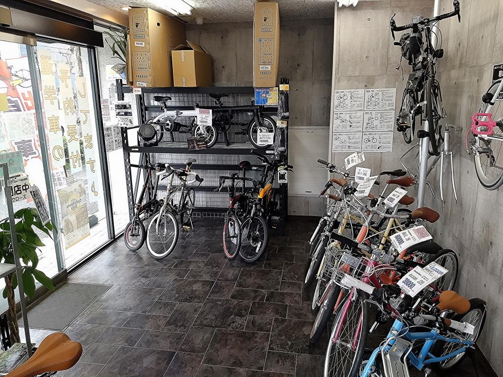 ちいさな自転車家 店頭在庫 ミニベロ 小径車