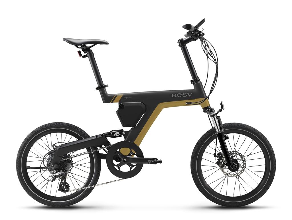 ちいさな自転車家 BESV PSA1 限定カラー 電動アシスト付自転車 ミニベロ 小径車