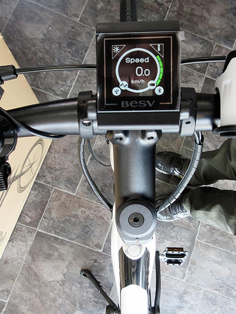 ちいさな自転車家 BESV JF1 クロスバイク 電動アシスト付自転車
