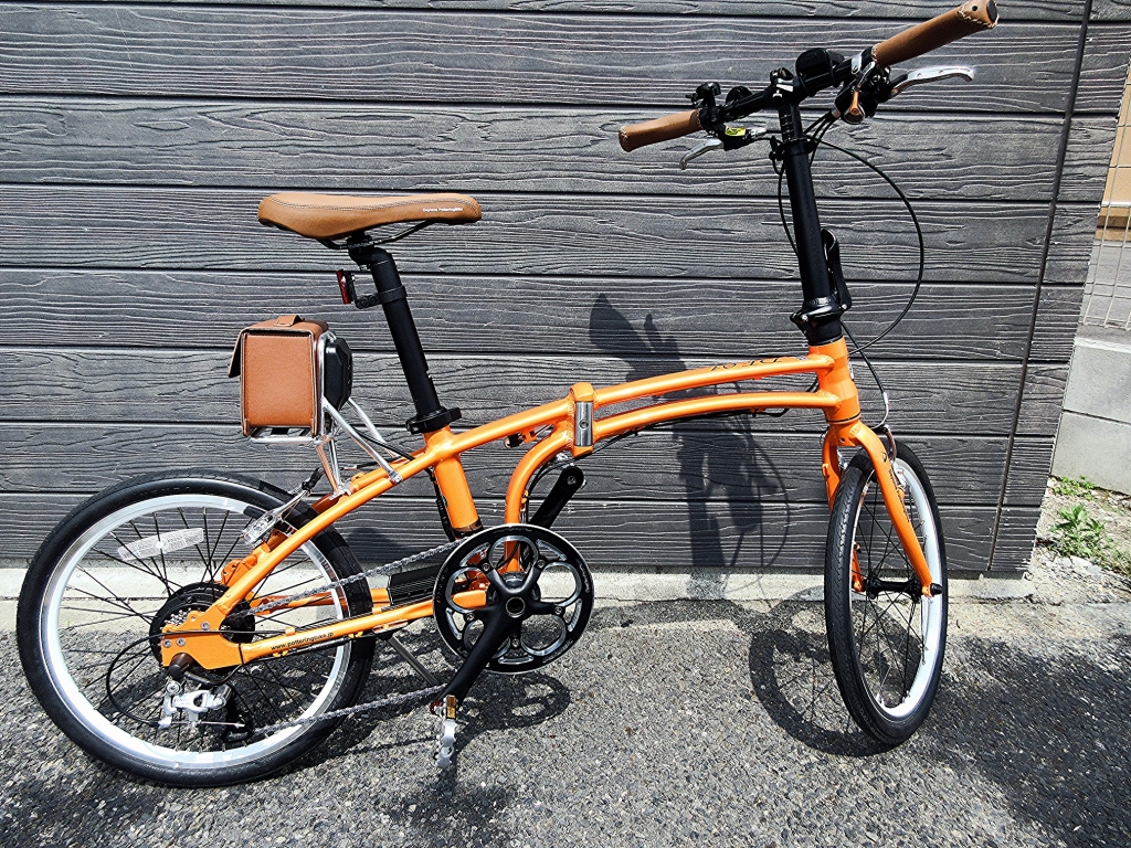 ちいさな自転車家 DAYTONA DE01S ミニベロ 電動アシスト付自転車