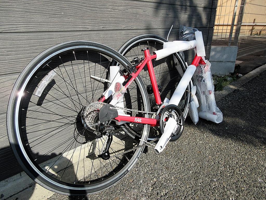 ちいさな自転車家 KhoddaBloom RAIL700 クロスバイク