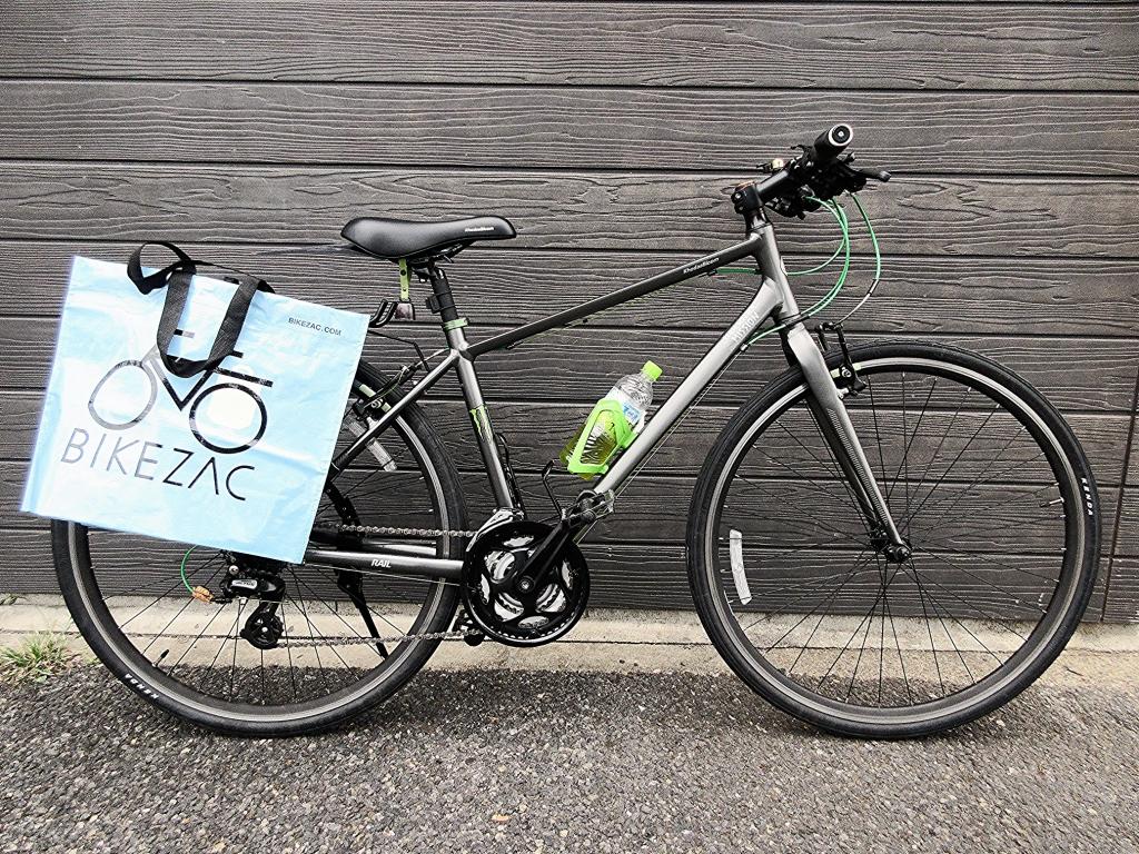 ちいさな自転車家 KhodaaBloom クロスバイク パニアバッグ