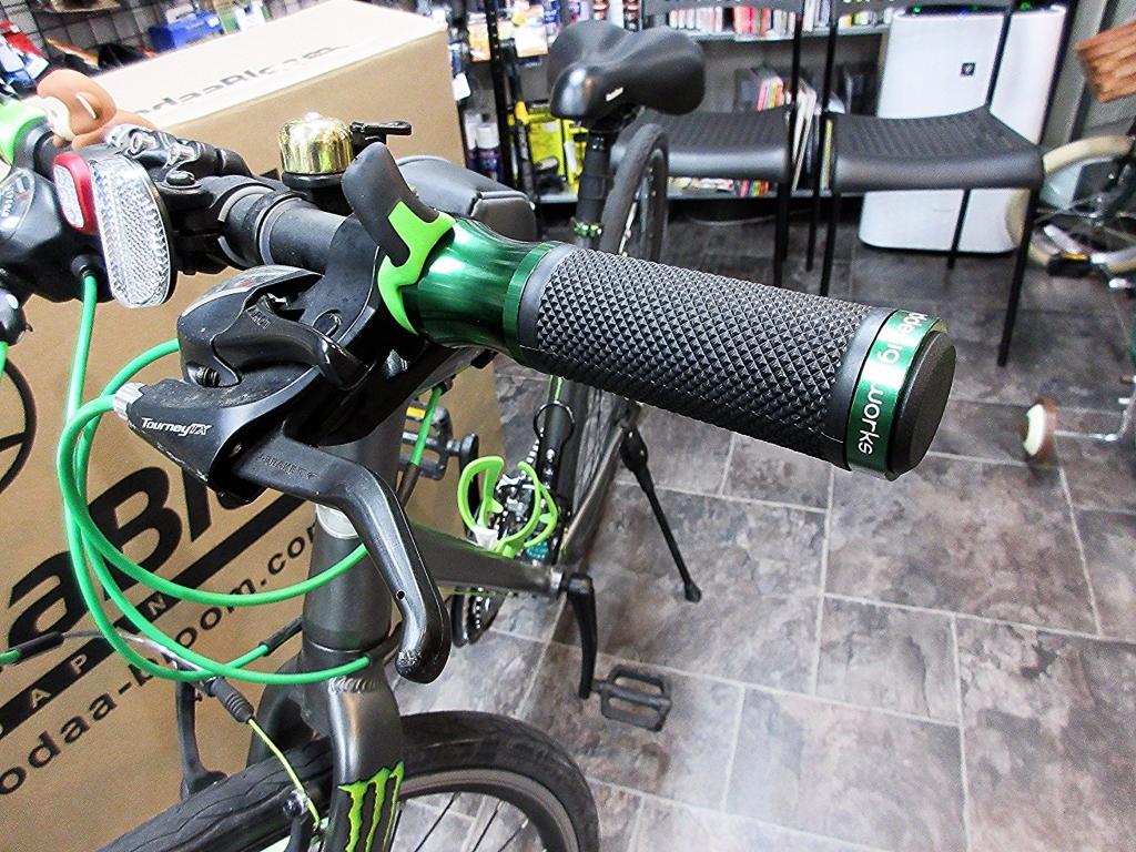 ちいさな自転車家 PDW ポートランドデザインワークス スピードメタルグリップ