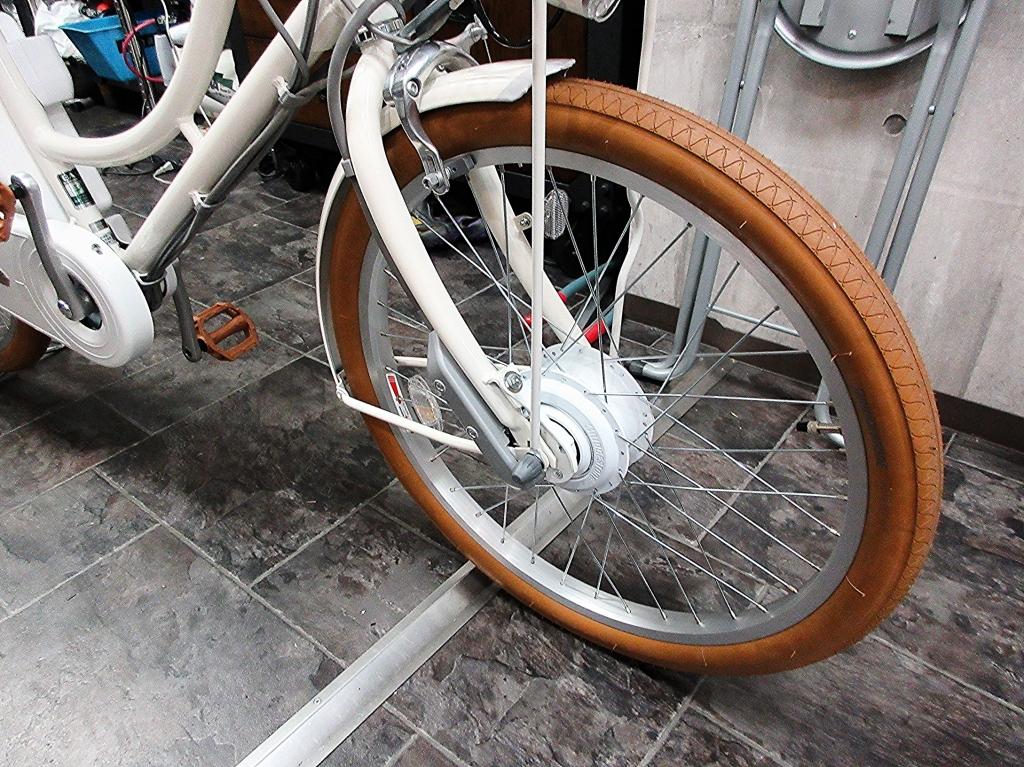ちいさな自転車家 BRIDGESTONE 電動アシスト付自転車 il mio