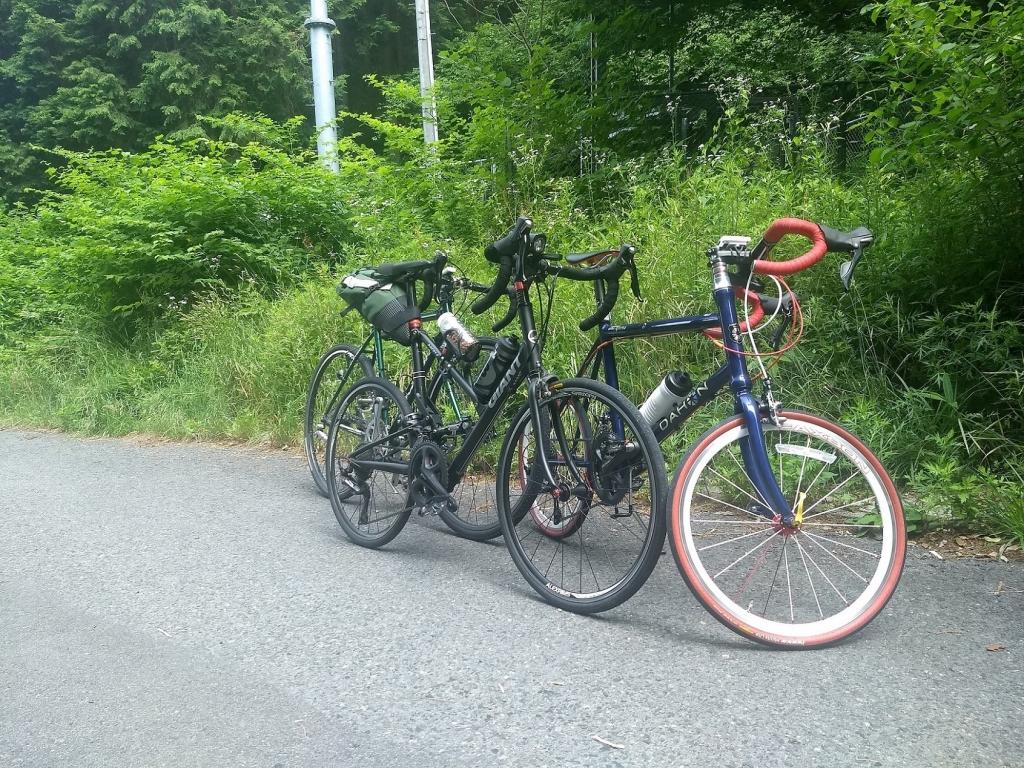 ちいさな自転車家 チャレンジ ヒルクライム 雨沢峠 ミニベロ 小径車