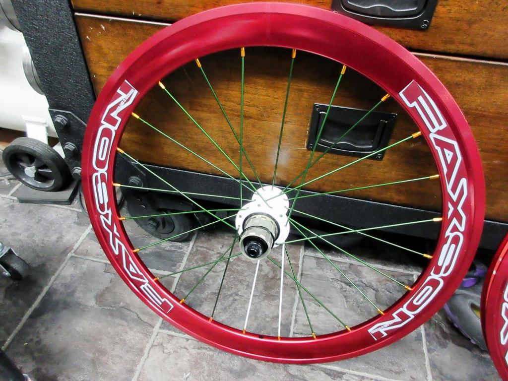 ちいさな自転車家 FAXSON カスタム ホイール ミニベロ 小径車