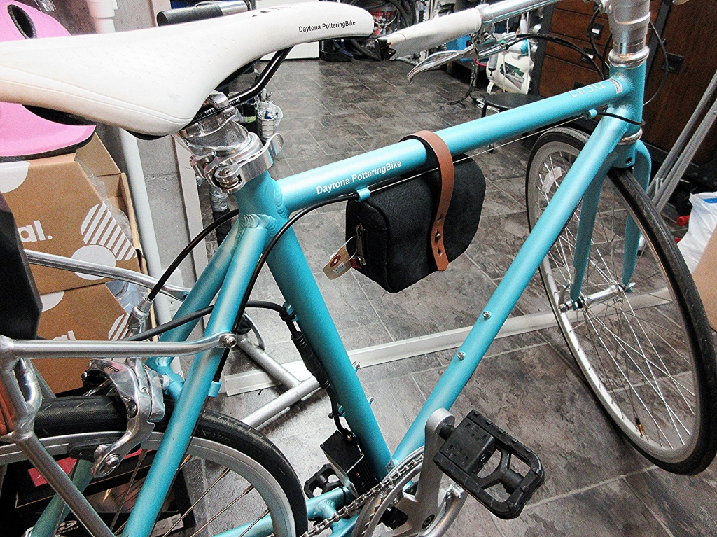 ちいさな自転車家 パーツ アパレル maware 革