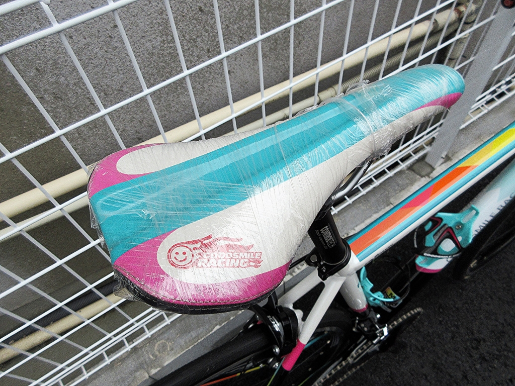 ちいさな自転車家 ESR GSR HMR-700 初音ミク ロードバイク