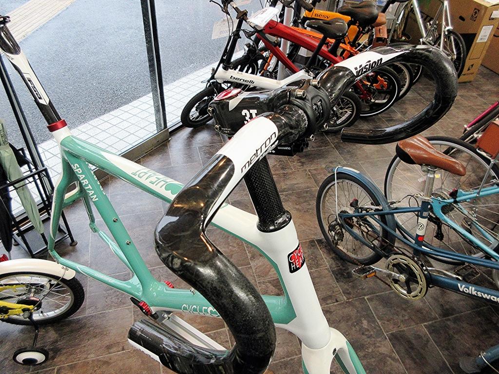 ちいさな自転車家 CYCLEHEART SPARTAN ミニベロ 小径車