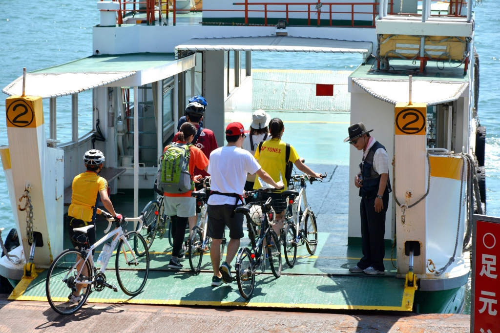 ちいさな自転車家 しまなみ海道 サイクリング
