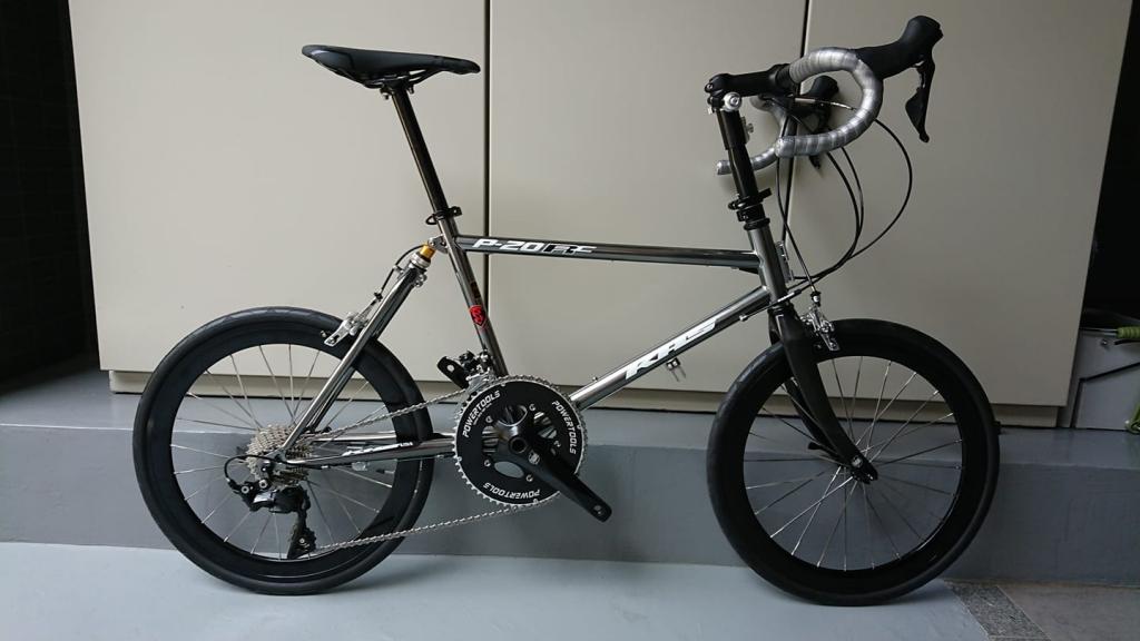 ちいさな自転車家 KHS P-20RC 2020年モデル ミニベロ 小径車