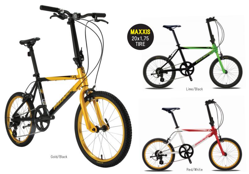 ちいさな自転車家 KHS FAM ミニベロ 小径車