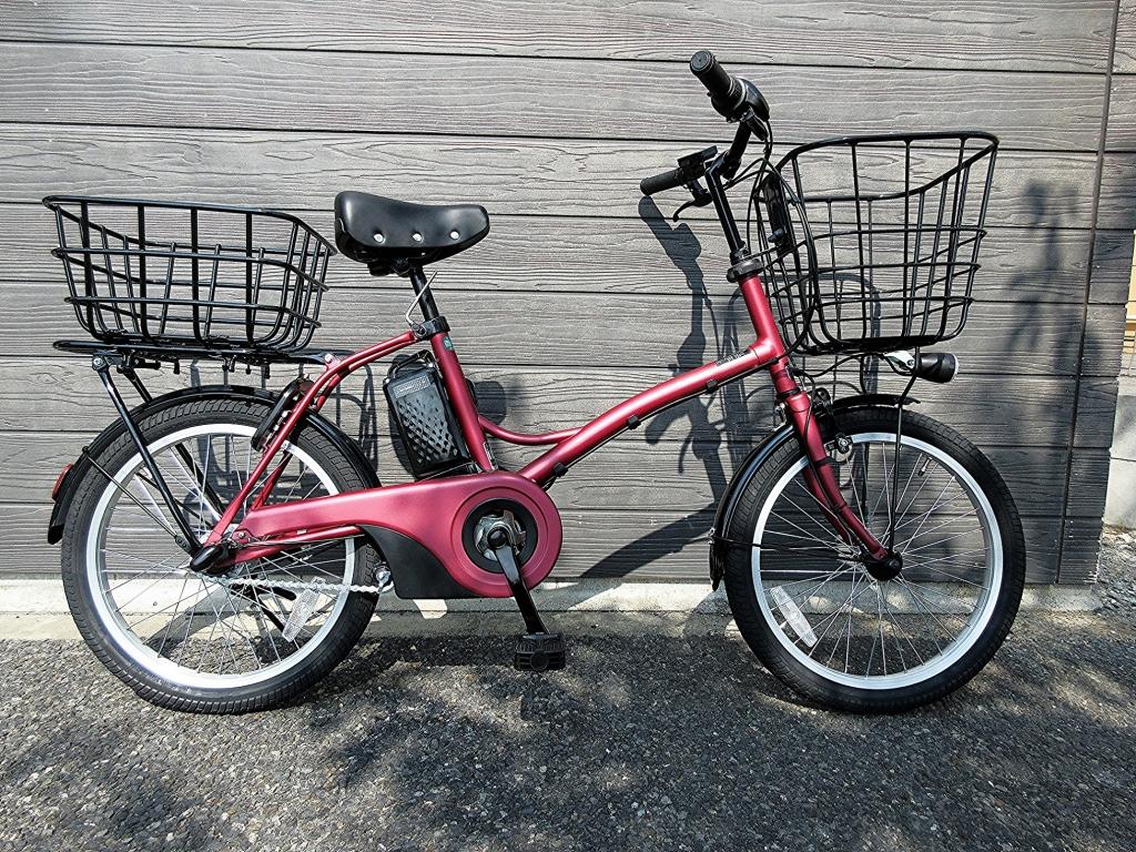 ちいさな自転車家 Panasonic グリッター ミニベロ 小径車