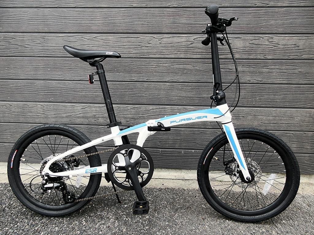 ちいさな自転車家 ESR PURSUER ミニベロ 小径車 折りたたみ自転車