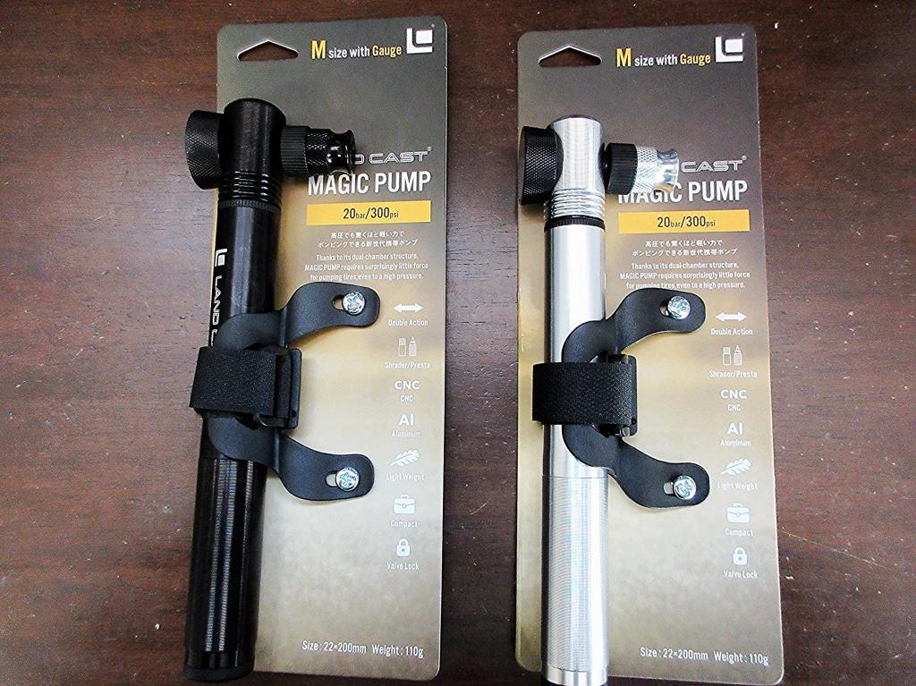 ちいさな自転車家 パーツ 携帯ポンプ 例のポンプ LANDCAST マジックポンプ