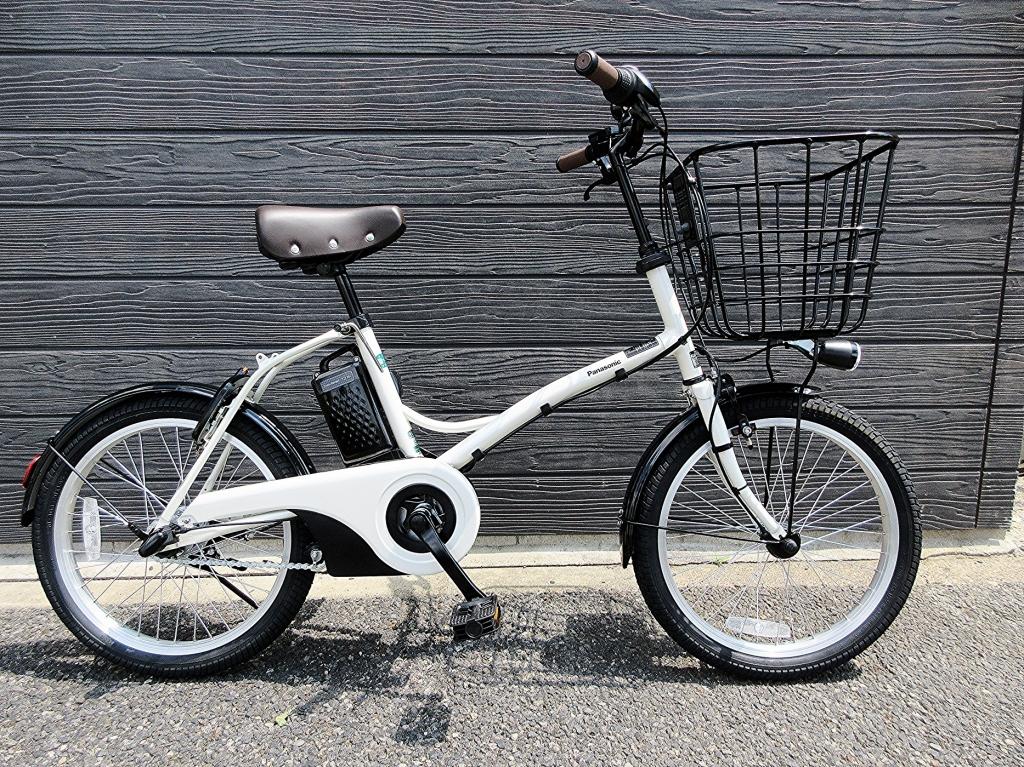 ちいさな自転車家Panasonic グリッター 電動アシスト付自転車