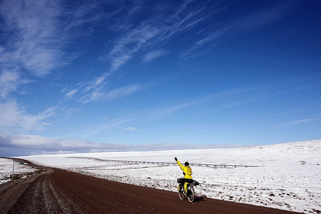 ちいさな自転車家 スポンサー サポート アラスカ縦断 自転車 アラスカンボーイ