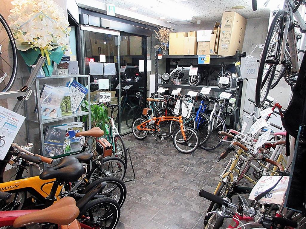 ちいさな自転車家 店内